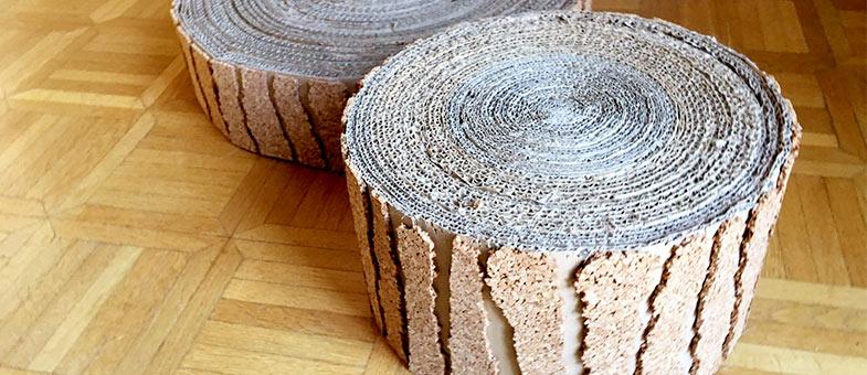 kratzbaum selber bauen aus einfachen mitteln tierisch wohnen. Black Bedroom Furniture Sets. Home Design Ideas