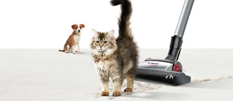 Tierhaarstaubsauger Bosch ProAnimal Katze